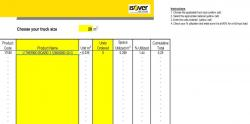 Truck Loading Calculation Tool